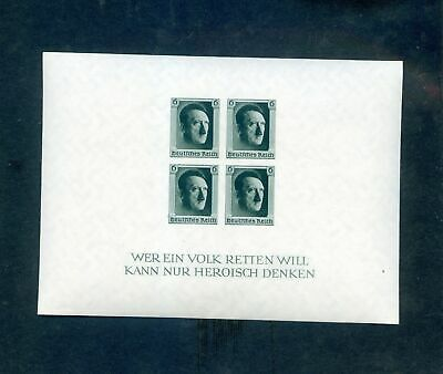Lot of 4 Germany MNH Mint Never Hinged Stamps Scott # B103 Imperf #141105 X R