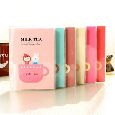 Kids Student Stationery Cute Cartoon Milk Tea Notebook Diary Planner Notepad