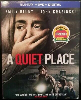 A Quiet Place [Blu-ray] With DVD W/slipcover
