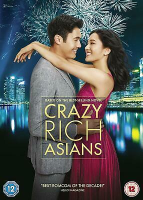 Crazy Rich Asians New DVD / Free Delivery