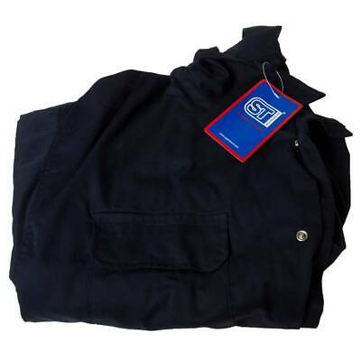 Polycotton Coverall Navy XXL Regular Leg Chest 124cm-132cm - Supertouch 51905