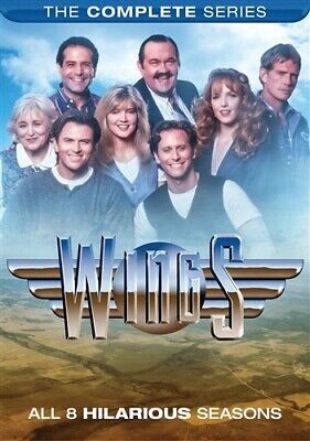 WINGS THE COMPLETE SERIES Sealed New DVD Seasons 1-8 1 2 3 4 5 6 7 8