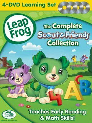 LEAPFROG COMPLETE SCOUT & FRIENDS COLLECTION New 4 DVD Set Leap Frog