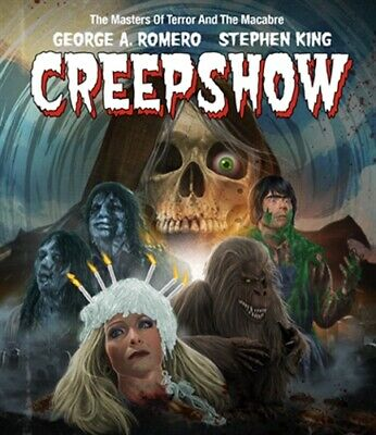 CREEPSHOW New Sealed Blu-ray Collector's Edition George A Romero Stephen King