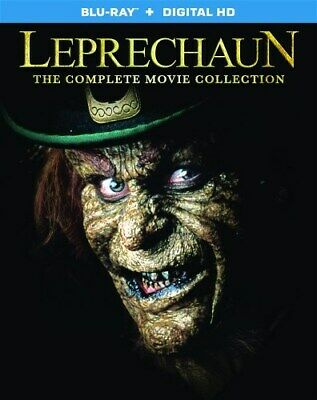 LEPRECHAUN COMPLETE MOVIE COLLECTION New Sealed Blu-ray All 7 Films