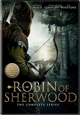 ROBIN OF SHERWOOD COMPLETE TV SERIES New Sealed 5 DVD Set Seasons 1 2 3
