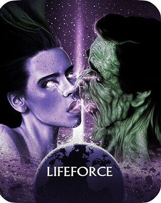 LIFEFORCE New Sealed Blu-ray Limited Edition Steelbook Limited to 10,000 Units