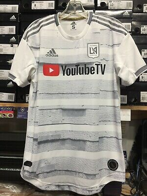 7e213479983 Adidas Lafc Away Jersey 2019 Authentic White  10 Vela Name And Number Size  Small