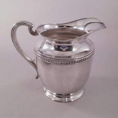 Silver Plated 5 Pint Water Pitcher Gadroon Detail FS Co