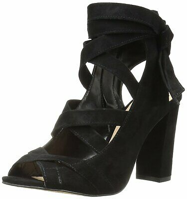 28bc195b2b2 VINCE CAMUTO WOMENS Sammson Suede Peep Toe Casual Strappy
