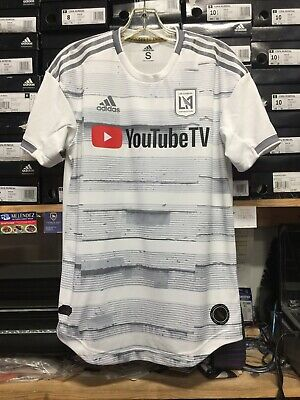 f40f0721a ADIDAS LAFC AWAY 2019 Authentic Player Version White Silver Size XXL ...