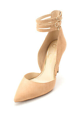0b25cdc863a JESSICA SIMPSON WOMENS Linnee Ankle Strap Pump Heels -  84.99