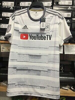 e2d04cf055a ADIDAS LAFC AWAY Jersey 2019 Authentic White #10 Vela Name And ...