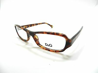 5e4dfb7c4cb Dolce   Gabbana Eyeglasses D G 1201 784 50-16-135 Optical New Authentic