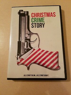 Christmas Crime Story DVD Used Adrian Paul