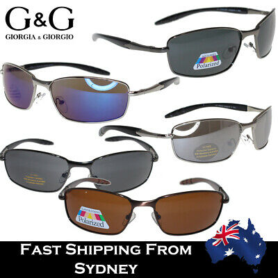 Mens Ladies Metal Frame Classical Sunglasses Mirror Lens / Polarized Available