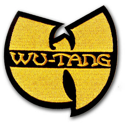 Wu Tang Clan patch Embroidered Hip Hop Band Applique Emblem Mobb Deep RZA Onyx