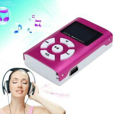 MP3 Music Player With Digital LCD Screen Mini Support 32GB Micro SD TF