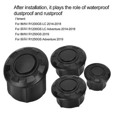 9Pcs Motorcycle Frame Hole Cover Caps Kit For R1200GS LC & Adventure R1250GS