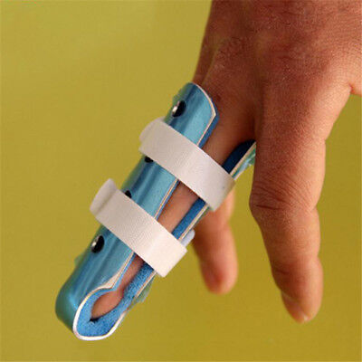 3 Sizes Mallet Finger Injury Protector Support Brace Splint Joint Protecter B