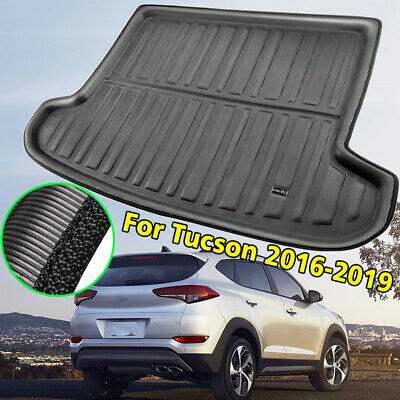 Boot Cargo Liner Trunk Mat Tray Floor Carpet For Hyundai Tucson TL 2016-2019
