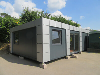 20ft x 40ft BRAND NEW 4 BAY MODULAR BUILDING SALES OFFICE SITE OFFICE MADE TO OR