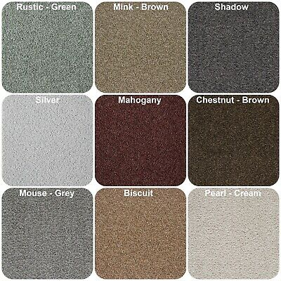 Dublin Heathers Carpet Stain Resistant Action Backing 4m Wide Quality Twist Pile