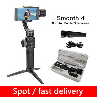 Zhiyun Smooth 4 Handheld 3-Axis Gimbal Stabilizer for iPhone Samsung Smartphone