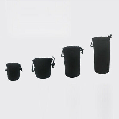 Small/Big Camera Lens Pouch Soft Bag Protector Carry Case HOT Useful Durable