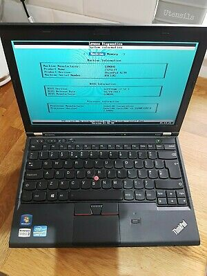 Lenovo X230 Intel i5 2.60Ghz - 8Gb RAM - 320Gb Hard Drive - AC Adapter - Damaged