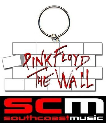 Pink Floyd The Wall Logo Keychain Top Quality Key Ring Official Keyring Chain