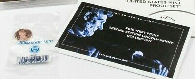 2019 W CENT  ONE PROOF COIN  sold in US Mint issued envelopes