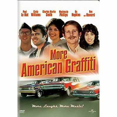 More American Graffiti~79 Vg/c Dvd~Cindy Williams Ron Howard Mackenzie Phillips