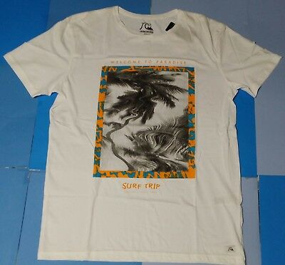 e845b78fb39 QUIKSILVER MEN  Tshirt size M Garment Dyed Welcome Modern Fit Tee S ...