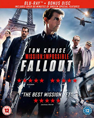 Mission Impossible Fallout BLU-RAY NEW
