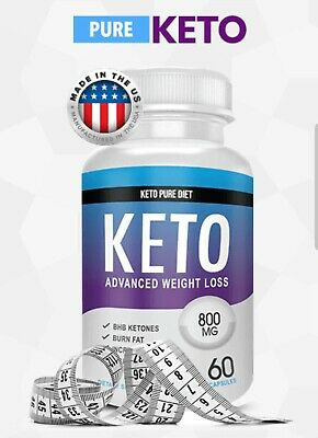 Keto Diet Pill Weight loss supplement fat burn carb block supports ketosis!
