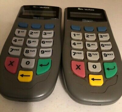 TWO 2 VeriFone PINpad 1000SE Credit Card Terminal PinPad Includes *Install Guide