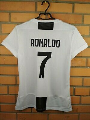 new concept 9966f 2d6c2 RONALDO JUVENTUS WOMEN jersey medium 2019 home shirt CF3497 ...