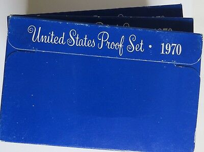 Ten 1970 S United States Proof Sets - Combine Shipping Available