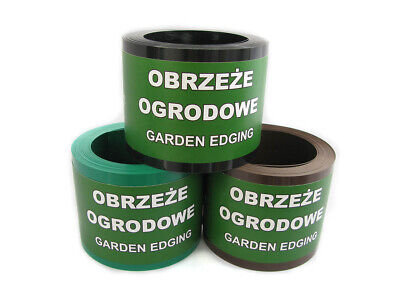 Garden Edging Flexible Border Strip Roll Grass Lawn Path Flower Bed Edge
