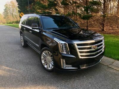 2016 Cadillac Escalade Platinum 2016 Cadillac Escalade ESV Platinum LOADED FREE SHIPPING & WARRANTY w/BIN
