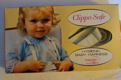Vintage Clippasafe Baby Harness, Boxed
