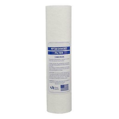 10 Inch 5-Micron Sediment PP Cotton Filter System For Water Purifier Top Quality