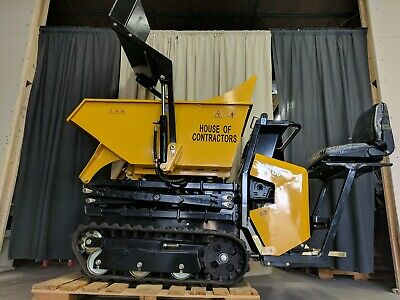 Hoc Mmt60 Track Loader Skid Steer High Tip Track Dumper + 3 Year Warranty