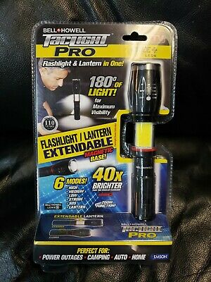 BELL + HOWELL Tac Light Pro As Seen On TV Taclight LED Flashlight Worklight