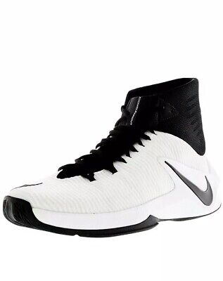 bc03c3f5baf9c NEW NIKE ZOOM Clear Out TB Men 844372-001 Black/White Basketball Shoes Size  11.5