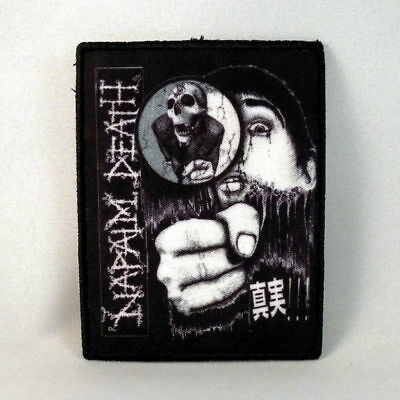 NAPALM DEATH Band Logo (Printed Small Patch) (NEW)