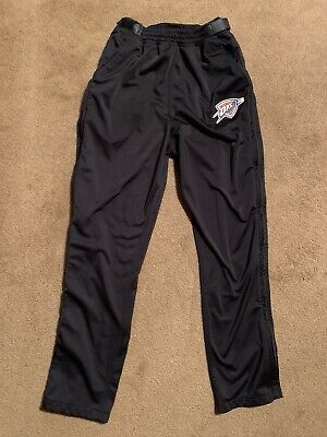 Men's ZipWay OKC Oklahoma City Thunder Tear Away Pants Black Size Medium