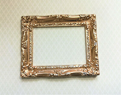Painted Metal two diff Small #29 Dollhouse Miniature Picture Frames