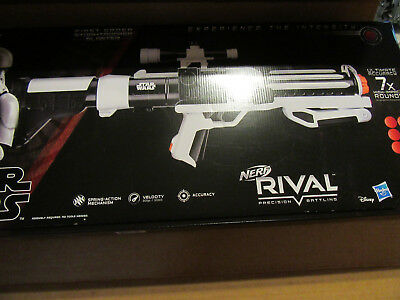 Nerf Rival Star Wars Stormtrooper Blaster 2018 Hasbro. Brand New. Prop Sounds